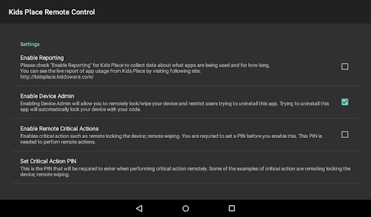 App Kids Place Remote Control and Monitoring APK for Windows Phone