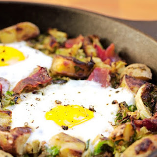 Bacon Brussels Sprouts Hash