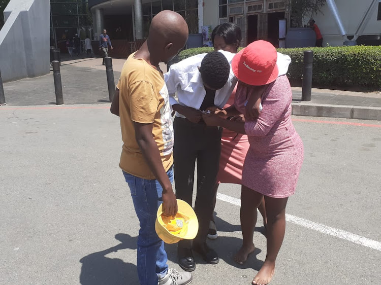 An emotional reunion between mother and son after the boy was found at Maponya Mall in Soweto.