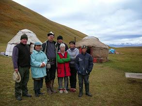 Photo: Jurta a havasi legelőkön, Kirgíz vendégszaretet, Song kul, Nomádok