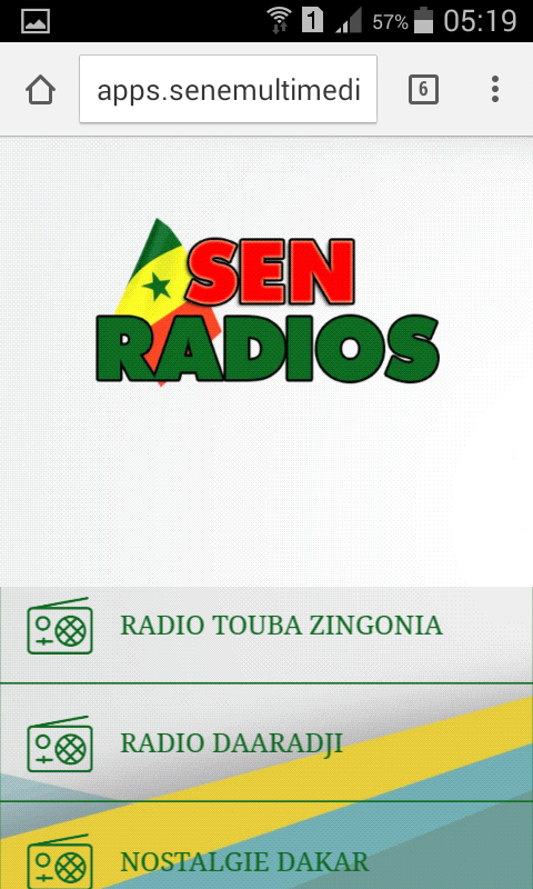 Sen Radios- screenshot