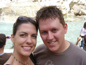 Photo: Teresa and Curt at the Trevi Fountain in Rome, Italy