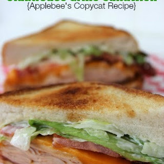Applebees Clubhouse Grille Sandwich