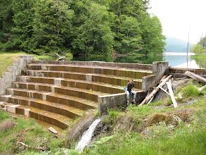 Photo: Day 7: Mountain Lake dam at Moran State Park.