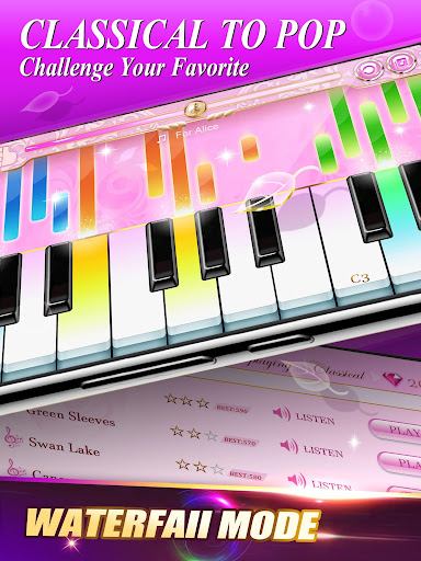 Piano Pink Master: Magic Music Tiles 1.10 screenshots 3