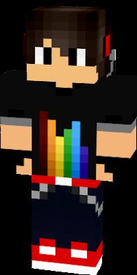 Gamer Boy Nova Skin - Skin para youtuber minecraft indo