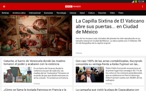 BBC Mundo 5.13.0 screenshots 10