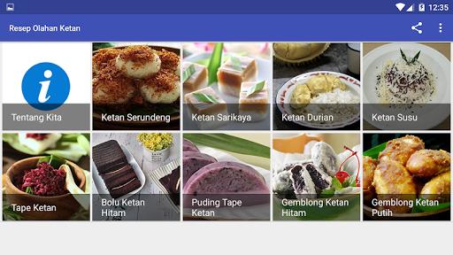 Resep Olahan Ketan screenshot 12