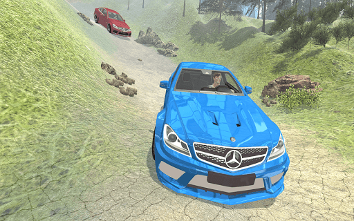 Offroad Car Drift Simulator: C63 AMG Driving for PC