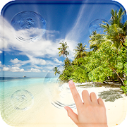 Beach Live wallpaper Magic Touch with Sound APK
