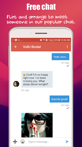 Free Dating App, Match Flirt & Chat - Dating Bunch 2.0 screenshots 2