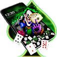 Green Clown Joker Gravity Theme