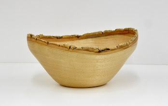 "Photo: Mark Verna - Natural-edge Bowl - 8"" x 4"" - White Ash"