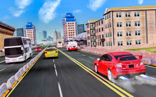 Modern Car Traffic Racing Tour - free games 3.0.11 screenshots 4