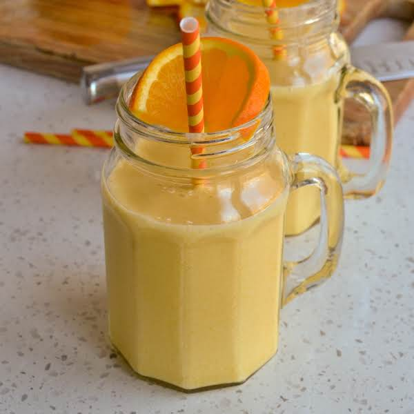 This Cool And Refreshing Copycat Orange Julius Recipe Comes Together In Less Than Five Minutes With Just Five Ingredients. Give It A Whirl And Take A Trip Down Memory Lane.