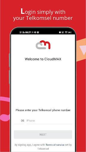 CloudMAX screenshot 1