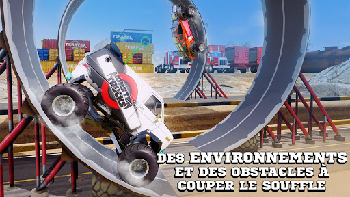 Monster Trucks Racing fond d'écran 2