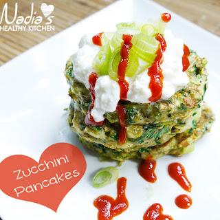 Clean Eating Zucchini Pancakes