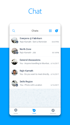 Microsoft Kaizala – Chat, Call & Work