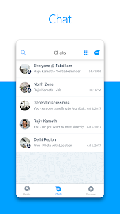 Microsoft Kaizala Screenshot