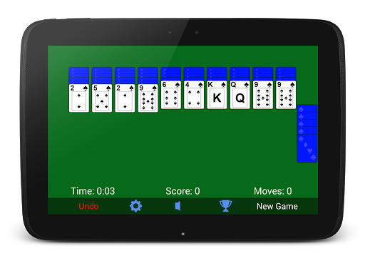 Spider Solitaire screenshot 5