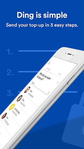 Ding Top-up: Mobile Recharge Screenshot