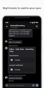 Zoho Cliq - Team Communication & Collaboration App apk free download