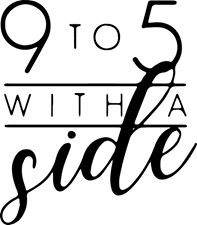 9 to 5 with a side logo
