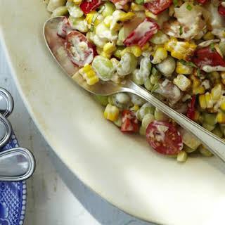 Cold Butter Bean/Lima Bean Salad Recipe (Gluten-Free).