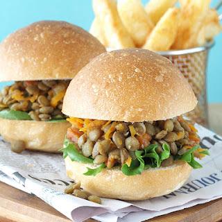 Loose Lentil Vegetarian Sandwiches