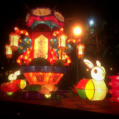 Mid Autumn Festival, Paper, Lanterns, 中秋節, 燈籠, hong kong, park, 香港, 公園