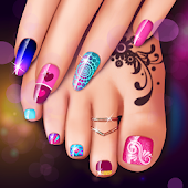 Manicure and Pedicure Games: Nail Art Designs Icon