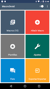 MacroDroid Pro – Automatización 1