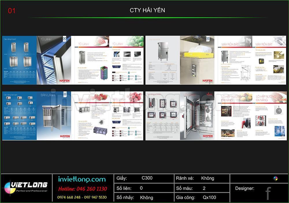 in catalogue giá rẻ tại Hà Nội