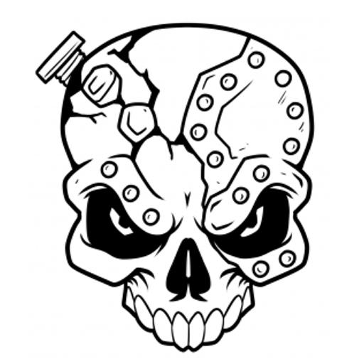 玩免費遊戲APP|下載How To Draw Skulls app不用錢|硬是要APP
