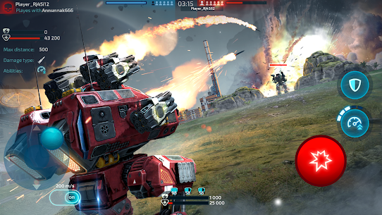Robot Warfare: Mech Battle 3D PvP FPS (Mod apk+obb) 2