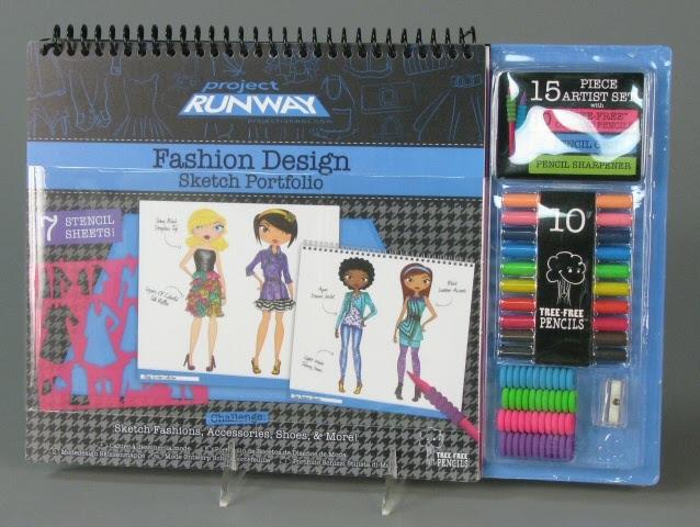 Activity Set Project Runway Fashion Design Sketch Portfolio Fashion Angels Enterprises Google Arts Culture