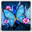 Shiny Butterfly Live Wallpaper icon