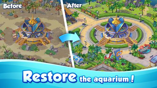 Aqua Blast: Fish Matching 3 Puzzle & Ball Blast 1.3.4 screenshots 5