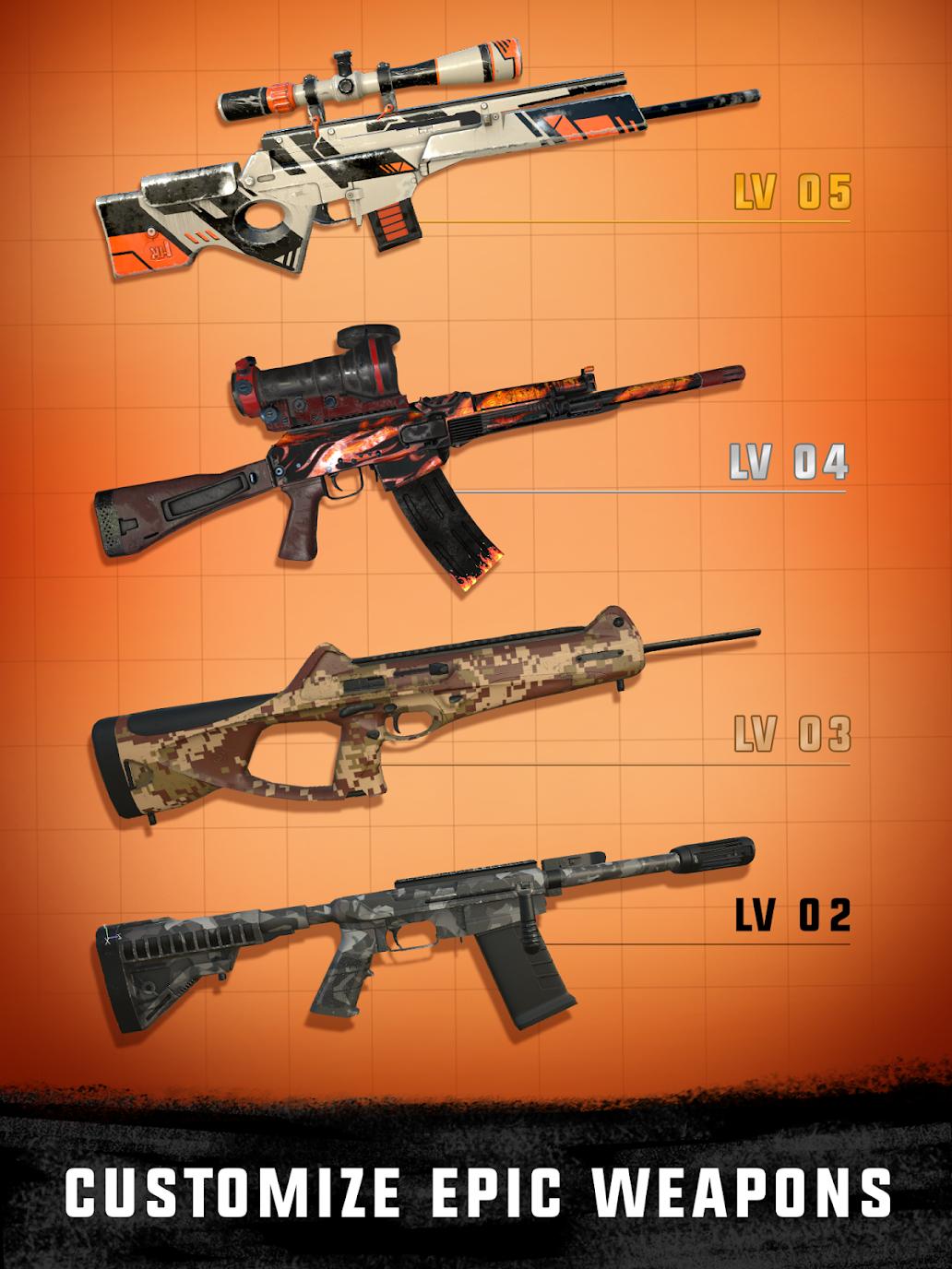 Sniper 3d Assassin Gun Shooter Mod Apk (Unlimited Coins/ Diamonds/Energy) 7