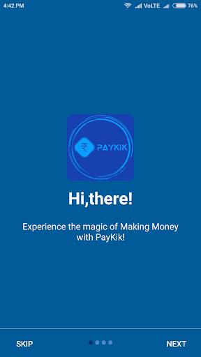 PayKik - Watch & Earn Money 1.1.1 screenshots 1