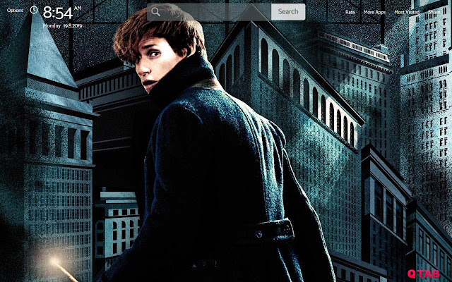 Fantastic Beasts Wallpapers New Tab Theme