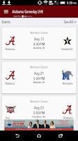 Screenshot of Alabama Gameday LIVE