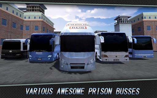 3D警察バス刑務所交通