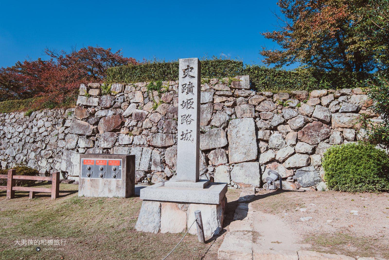 姬路城算得上是日本國寶級的建築了,只能說日本對古蹟保存真的非常重視。