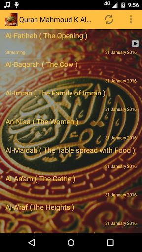Quran Mahmoud K Al Hussary