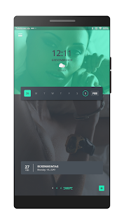 UKP for Kustom / KLWP Screenshot