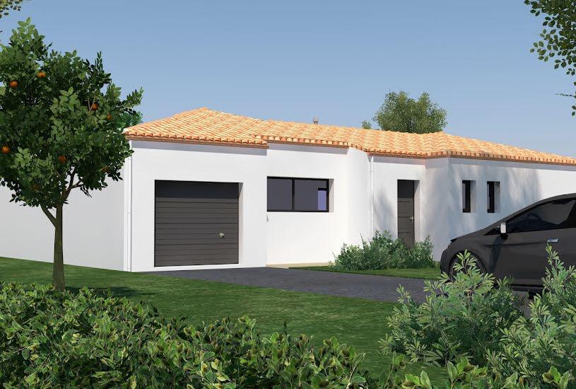 Vente Terrain + Maison - Terrain : 1000m² - Maison : 122m² à Saint-Mars-de-Coutais (44680)