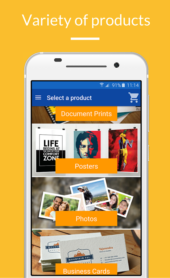 Printo : Print Instantly - posters, docs, photos- screenshot