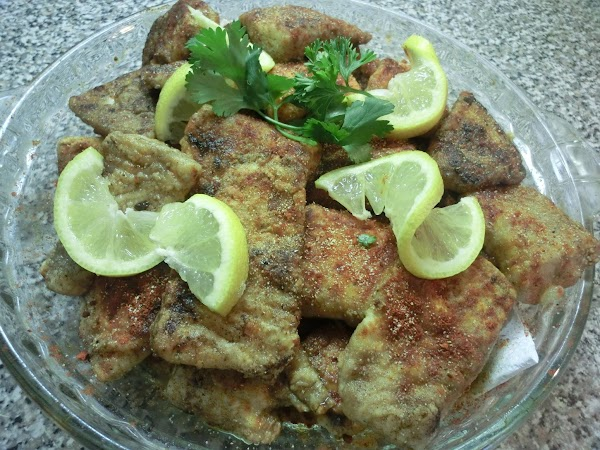Garlic/paprika Tilapia Chunks Recipe